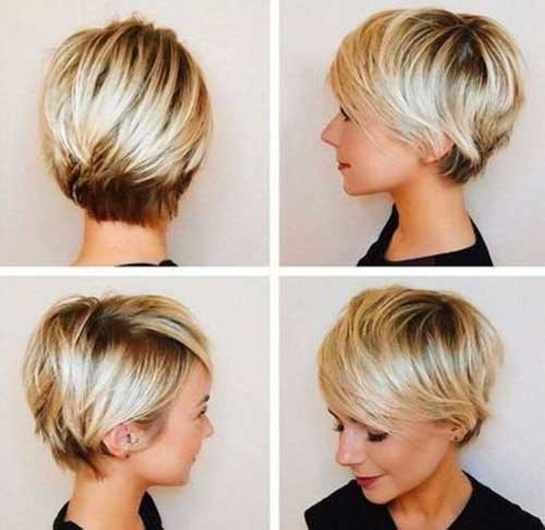 Chubby-Face-Short-Haircut Best Short Bob Haircuts for Women