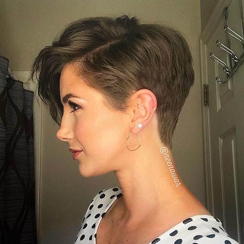 Cute-Pixie-Hair Best Short Pixie Hairstyles 2018