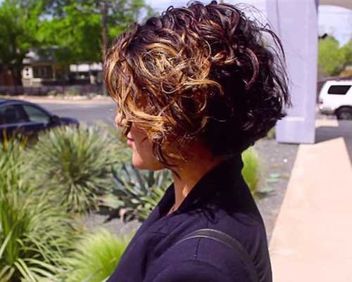 Modern-Curly-Short-Haircut Best Curly Short Hairstyles