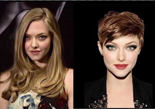 Pixie-Hairstyle Before and After Pics of Short Haircuts