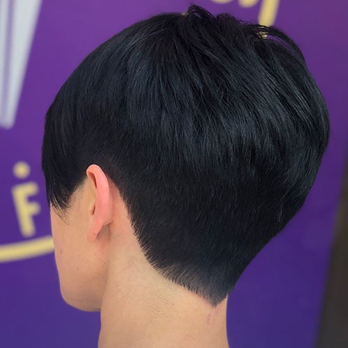 Pixie-Thick-Hair Best Short Pixie Hairstyles 2018