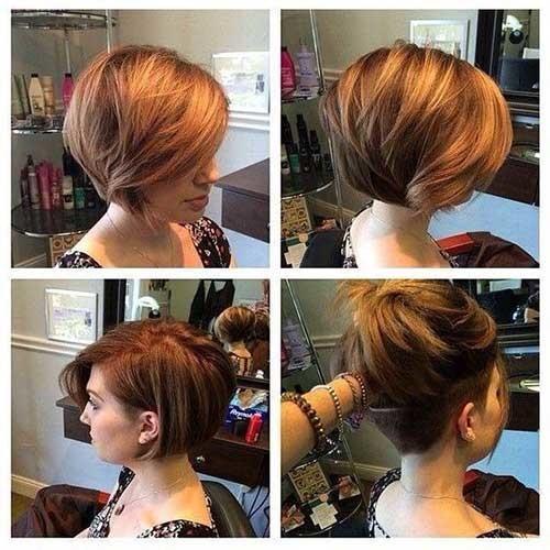 Short-Bob-Hair-Undercut Best Short Bob Haircuts for Women