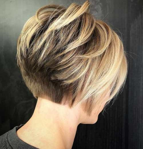 Short-Layered-Bob-Hairstyle Best Short Bob Haircuts for Women
