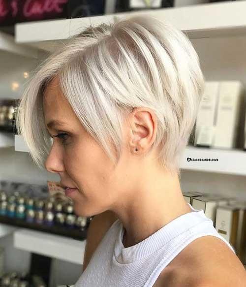 Thin-Hair-Pixie-Cut Latest Short Hairstyles with Fine Hair