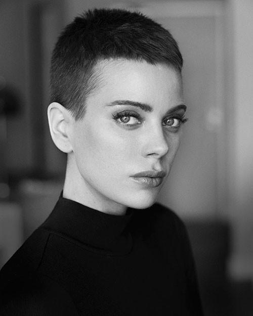 Very-Short-Pixie-Cut Best Short Pixie Hairstyles 2018