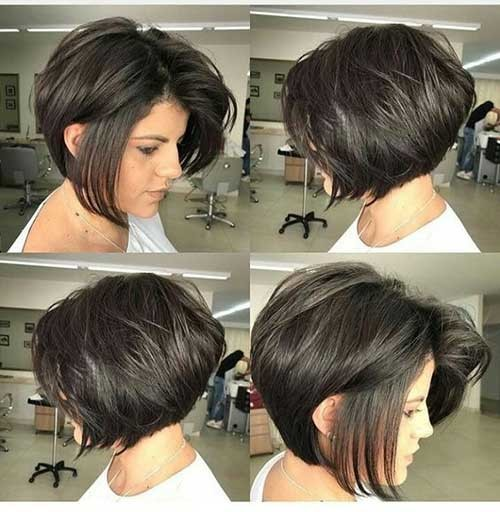 Whispy-Short-Hair-Cut Best Short Bob Haircuts for Women