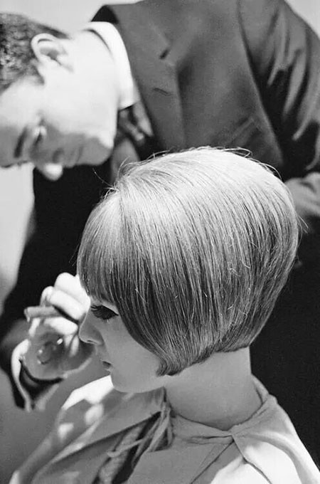 1960S-Bob-Vidal-Sassoon 1960's Short Hairstyles