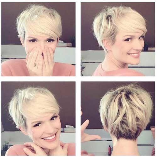 2018-Cute-Pixie-Hair Best Short Haircuts for 2018-2019
