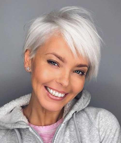 2018-Short-Hair-for-Older-Women Best Short Haircuts for 2018-2019