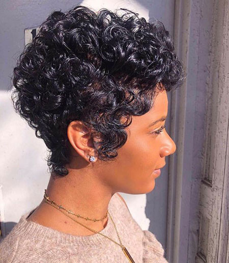 best short pixie hairstyles for black women 2018  2019