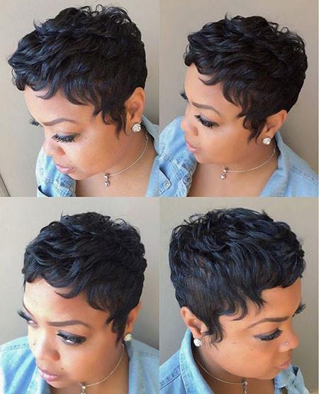 71-Short-Pixie-Hairstyles-for-Black-Women Best Short Pixie Hairstyles for Black Women 2018 – 2019