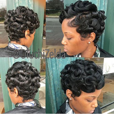 77-Short-Pixie-Hairstyles-for-Black-Women Best Short Pixie Hairstyles for Black Women 2018 – 2019