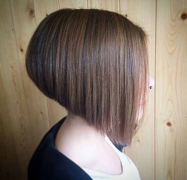 Angled-Bob-Haircut-for-Fine-Hair Best New Bob Hairstyles 2019