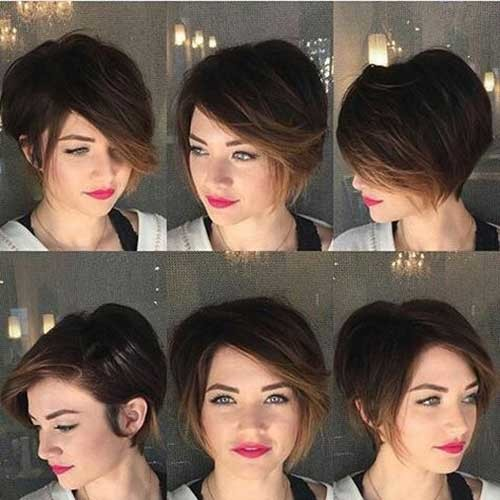 Ash-Blonde-Short-Hair Charming Stacked Short Haircuts for Women