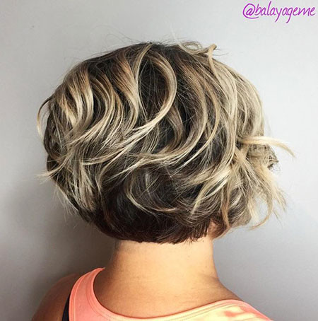 Balayage-Bob-Cut Short Bob Haircuts 2019