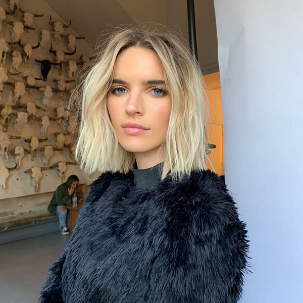 Blonde-Bob-Hairstyle Best New Bob Hairstyles 2019