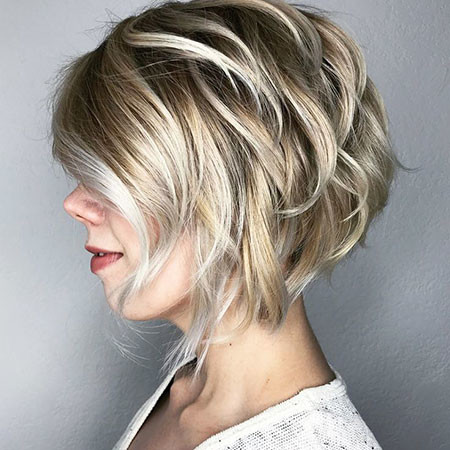 Bob-Cut-with-Bangs Short Bob Haircuts 2019