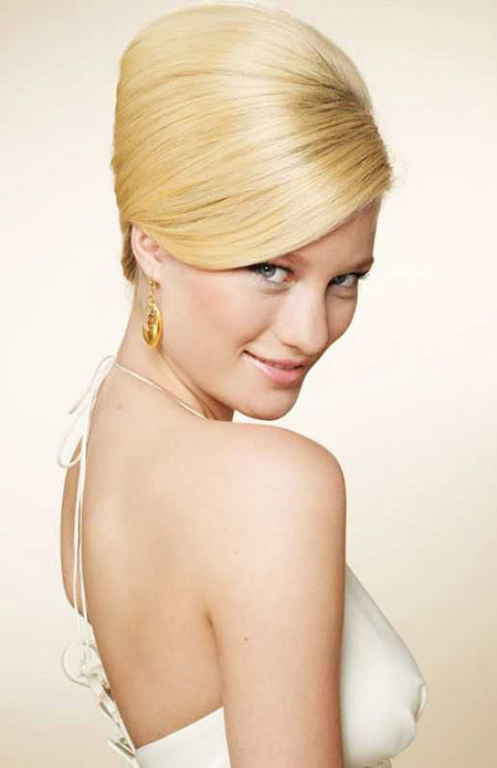 Bridal-Hairtyle-for-Thin-Hair 1960's Short Hairstyles