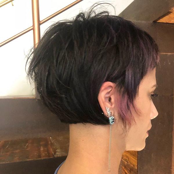 Brunette-Pixie-Cut Best Pixie Cut 2019