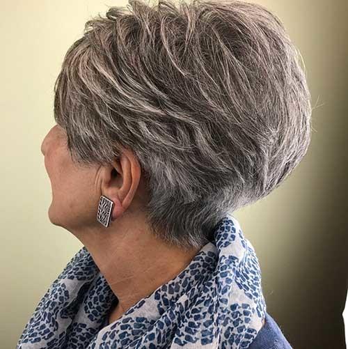 Choppy-Tousled-Pixie-Hair Best Short Haircuts for 2018-2019