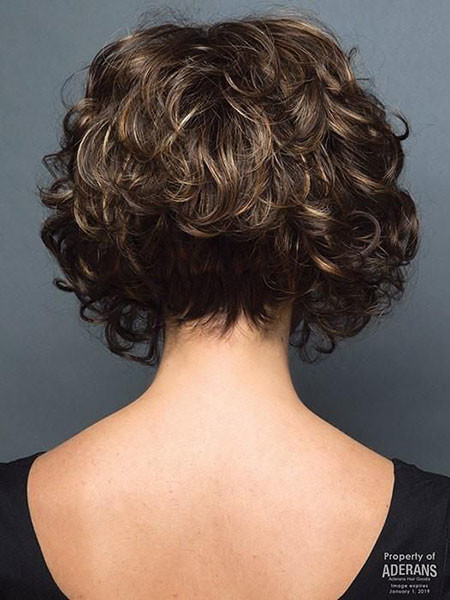 Curly-Bob-Haircuts Popular Short Curly Hairstyles 2018 – 2019