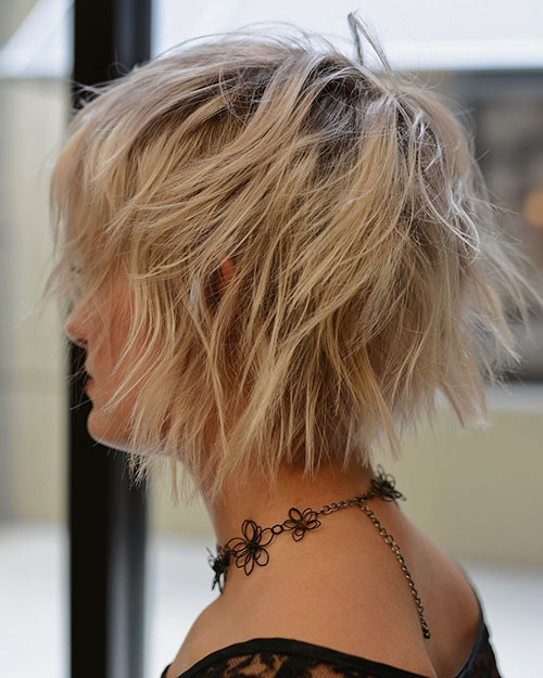 Cute-Layered-Hair Short Layered Haircuts 2018 – 2019