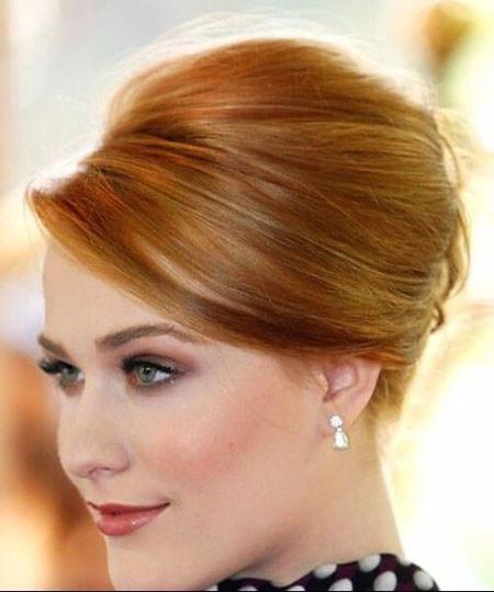 Elegant-Updo-Hair Wedding Hairstyles for Short Hair