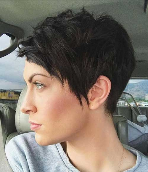 Funky-Short-Hair Best Short Haircuts for 2018-2019