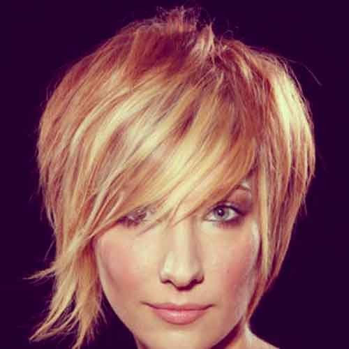 Funky-short-haircuts Best Short Haircuts for Oval Faces
