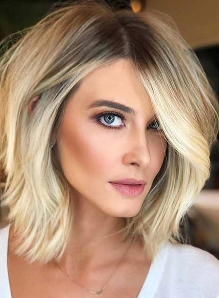 Hair-Color-Idea-for-Short-Haircuts Hair Color Ideas for Short Haircuts