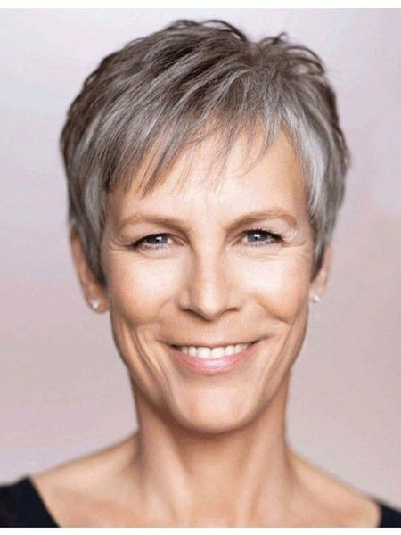 Jamie-Lee-Curtis-Pixie-Cut Best Pixie Haircuts for Over 50 2018 – 2019