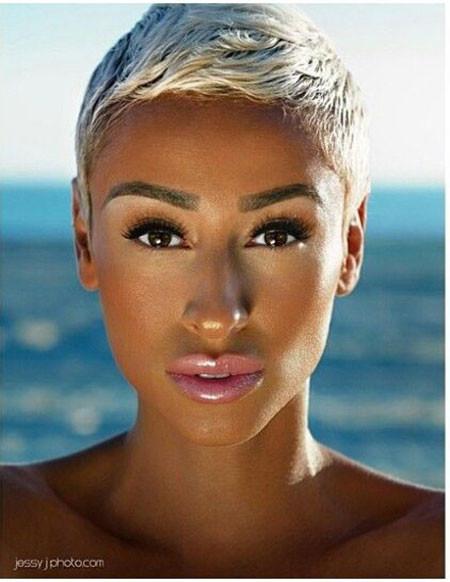 Korte-Kapsels-Hair Best Short Pixie Hairstyles for Black Women 2018 – 2019