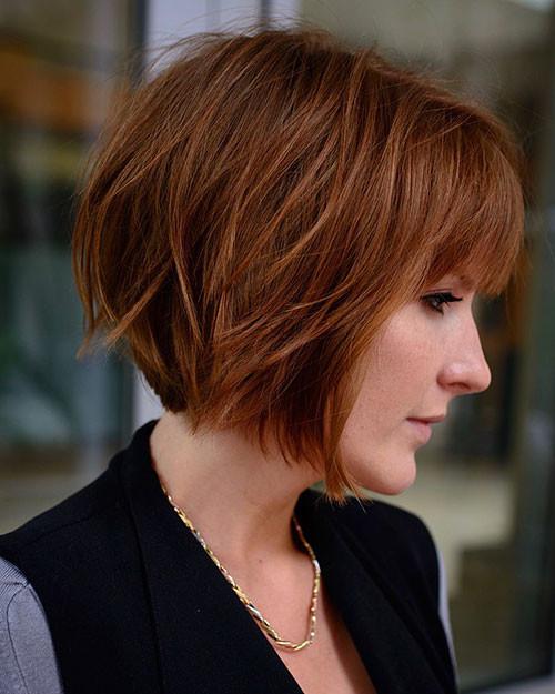 Layered-Hair-for-Women Short Layered Haircuts 2018 – 2019
