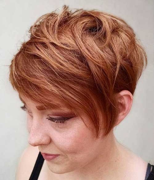 Layered-Longer-Pixie Best Short Haircuts for 2018-2019
