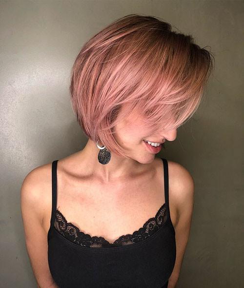Layered-Short-Hair-for-Girls Short Layered Haircuts 2018 – 2019