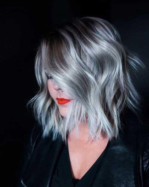 Long-Bangs-Pixie-Cut Outstanding Short Haircuts for Women