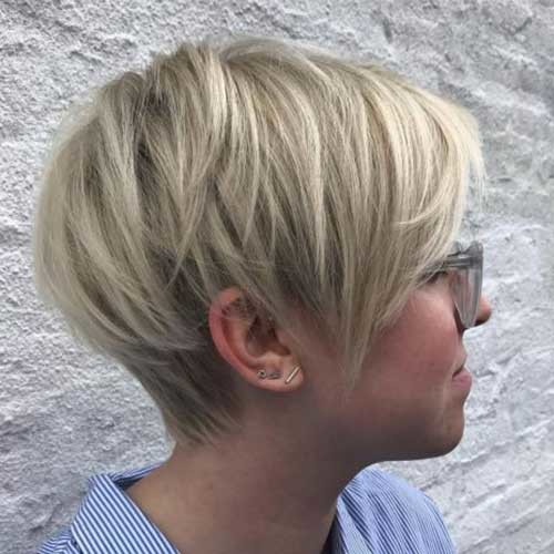 Long-Pixie-Side-View Best Short Haircuts for 2018-2019