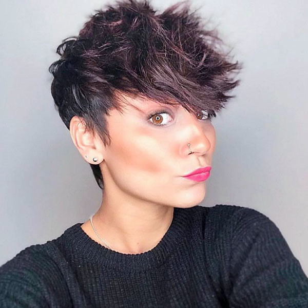 Messy-Pixie-Haircut Best Pixie Cut 2019