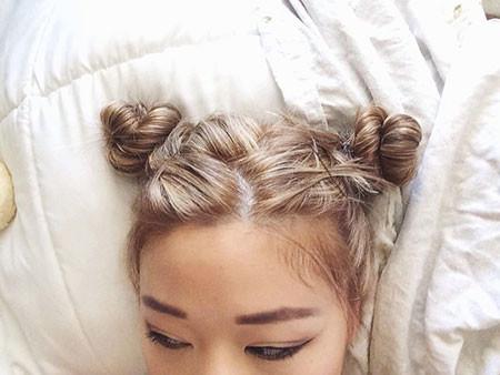 Mini-Buns Hair Buns for Short Hair