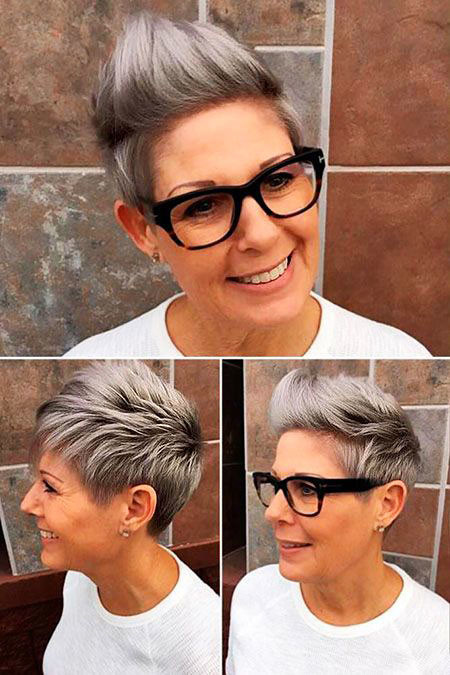 Mohawk-Style Trendy Short Hairstyles 2019