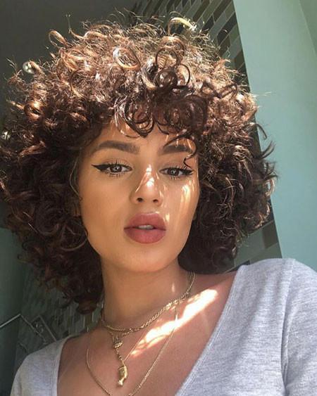 Natural-Hair-1 Popular Short Curly Hairstyles 2018 – 2019