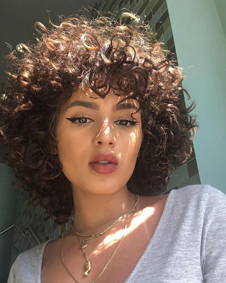 Natural-Hair-1 Popular Short Curly Hairstyles 2018 – 2019