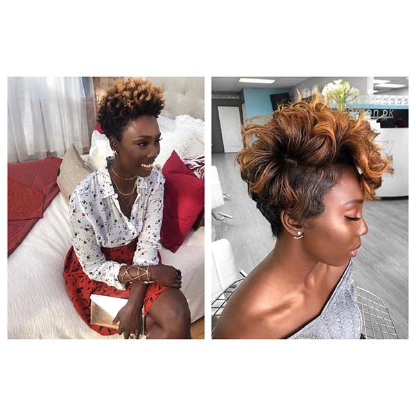 Natural-Short-Hairstyle Short Haircuts for Black Women 2019