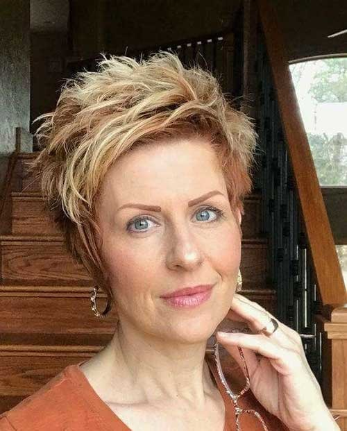 Older-Woman-Pixie-Style Best Short Haircuts for 2018-2019