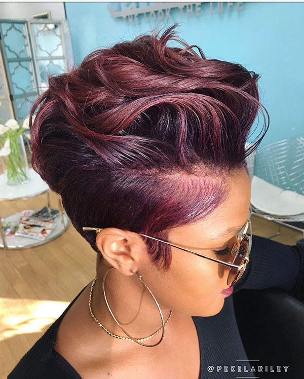 Pixie-Cut-7 Short Haircuts for Black Women 2019
