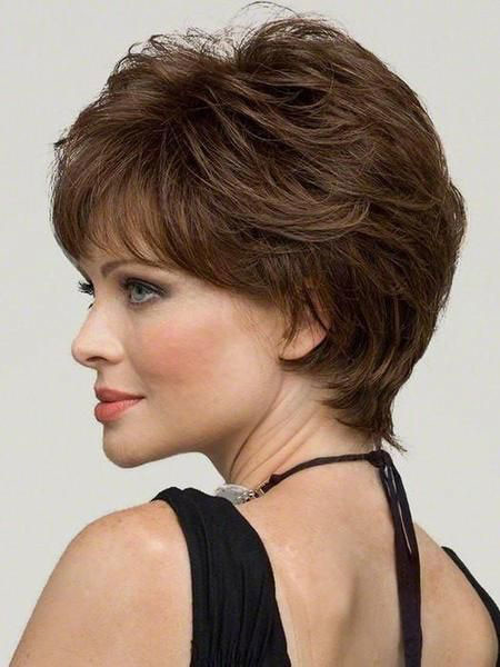 Pixie-Cut-with-Bangs Best Pixie Haircuts for Over 50 2018 – 2019