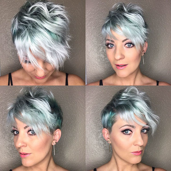 Pixie-Hair-Color-İdeas Best Pixie Cut 2019