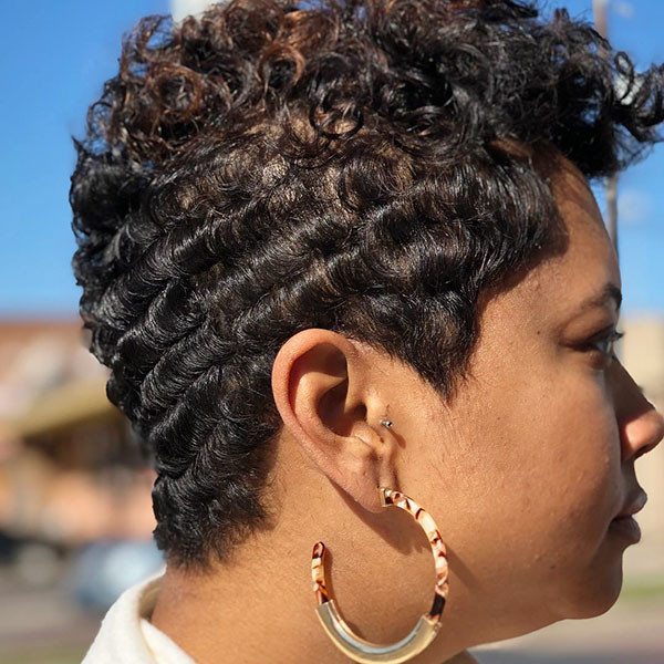 Pixie-Hair-Women Short Haircuts for Black Women 2019