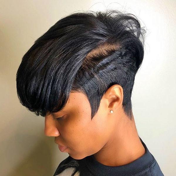 Pixie-HairCut-1 Short Haircuts for Black Women 2019