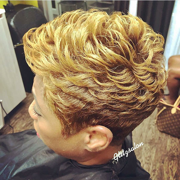 Pixie-Hairstyle-3 Short Haircuts for Black Women 2019
